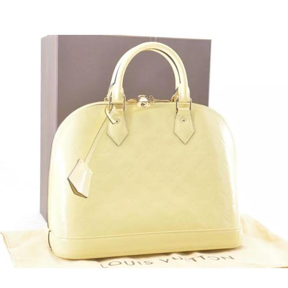 Louis Vuitton Handbags - LOUIS VUITTON Monogram Vernis Alma PM Hand Bag